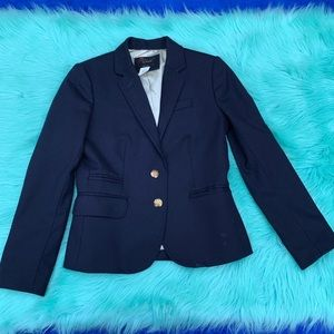 J. Crew school boy navy wool blazer